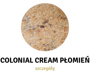 Colonial Cream Płomień