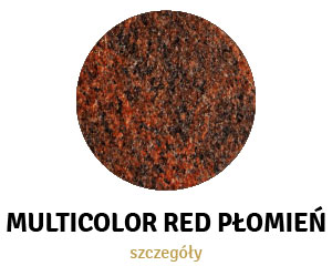 Multicolor Red Płomień
