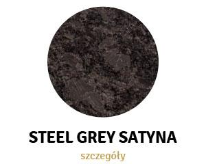 Steel Grey Satyna
